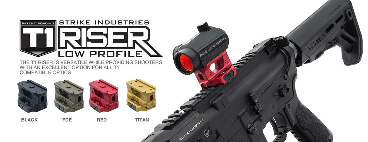 Strike Industries AR REX T1 Riser Mount