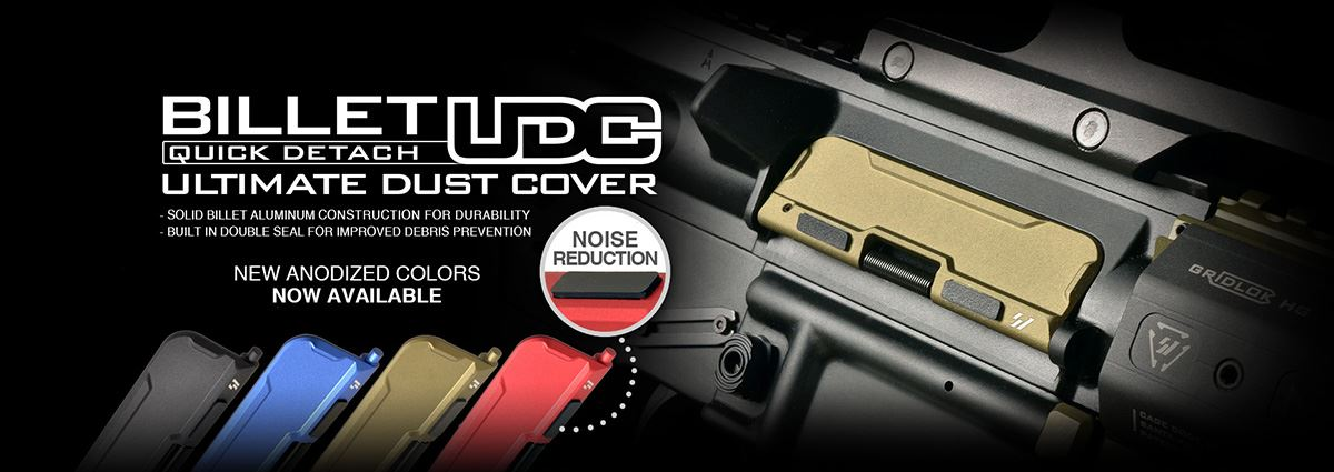 Strike Industries AR-15 Billet Ultimate Dust Cover