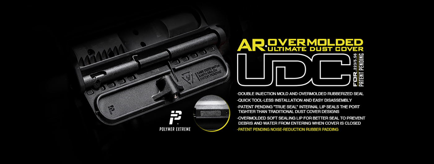 Strike Industries AR-15 Overmolded Ultimate Dust Cover