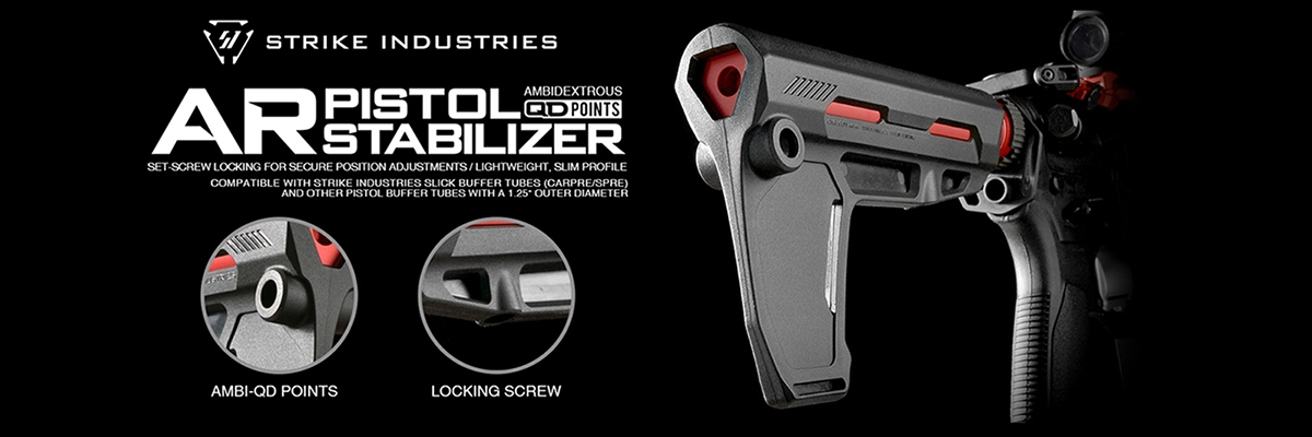 Strike Indestries AR Pistol Stabilizer