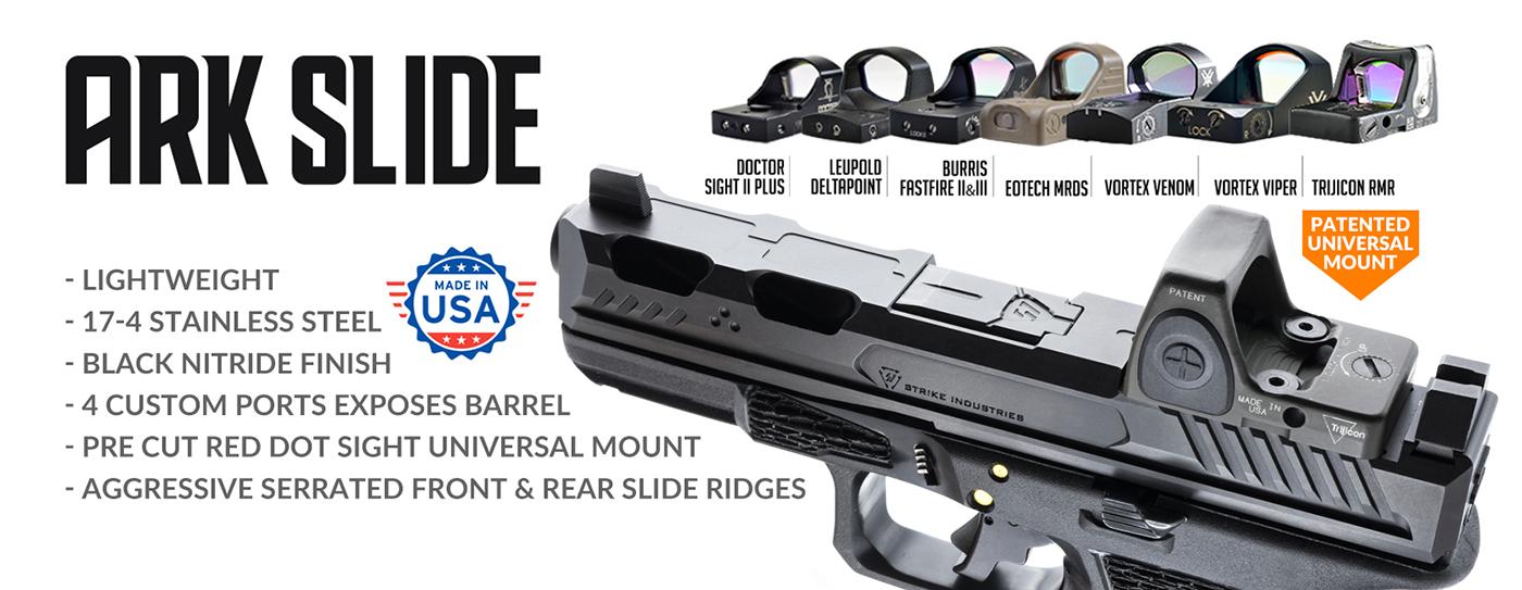 Strike Industries ARK Slide for Glock 17