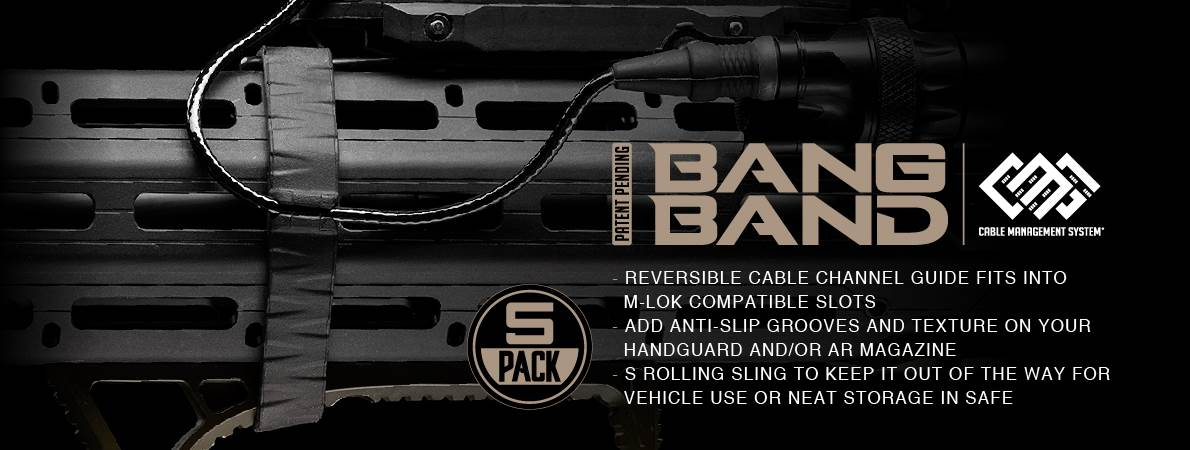 Strike Industries Bang Band Cable Organizer