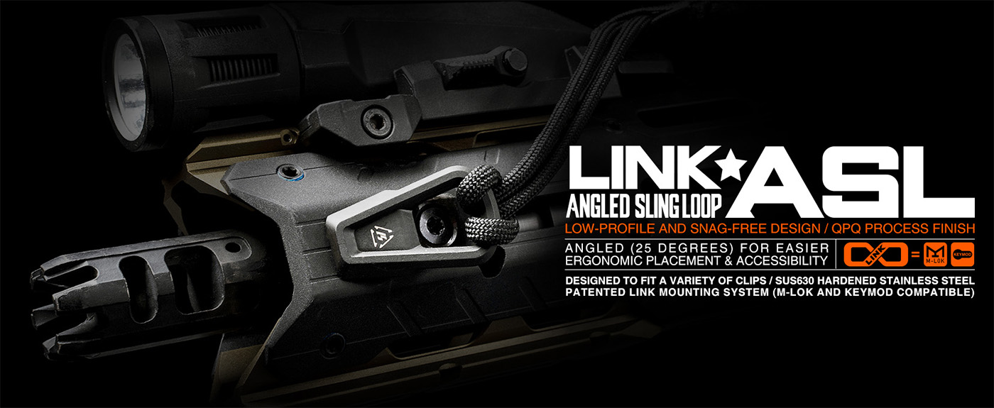 Strike Industries LINK Angled Sling Loop