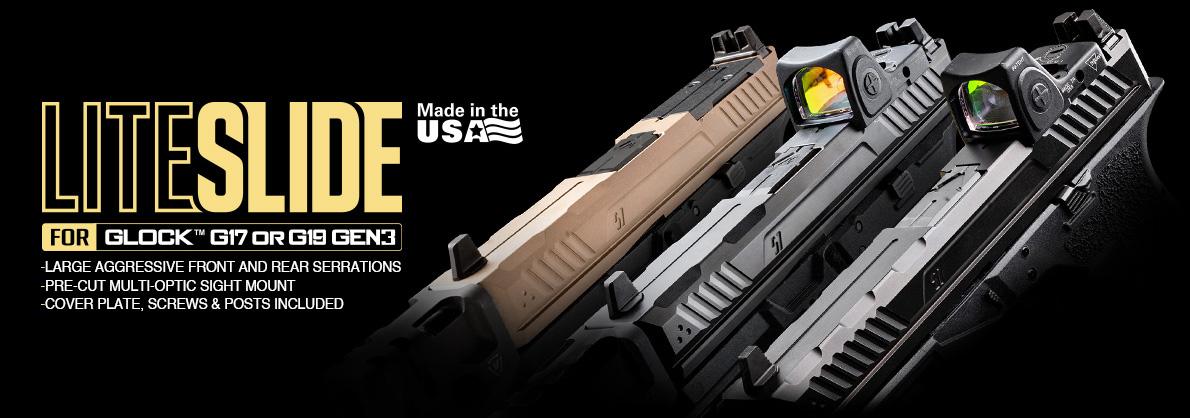 Strike Industries LITESLIDE for Glock 17