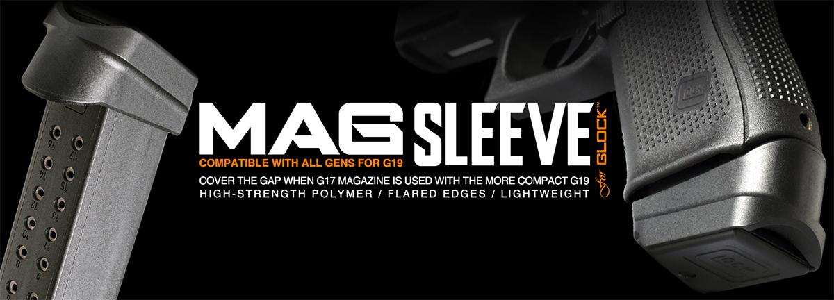 Strike Industries Magazine Sleeve for Glock 19