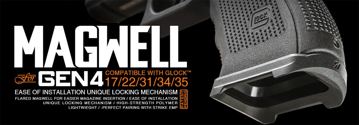 Strike Industries Magwell for Gen 4 Glock 17