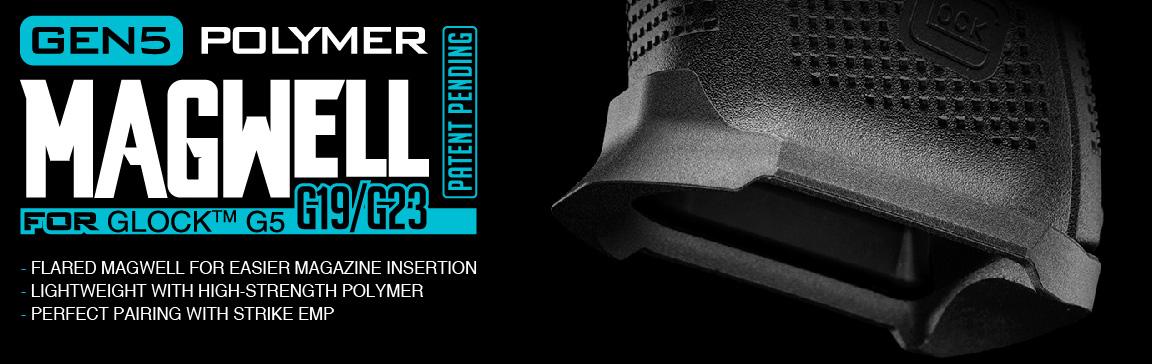 Strike Industries Magwell for Gen 5 Glock  19/23