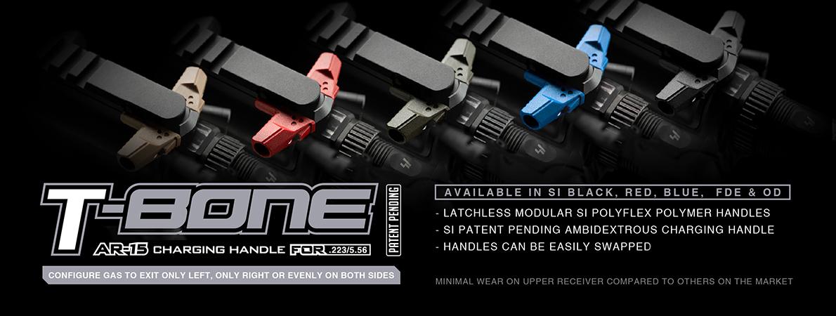 Strike Industries T-Bone Latchless Charging Handle