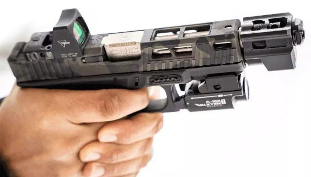 tyrant designs glock compensator