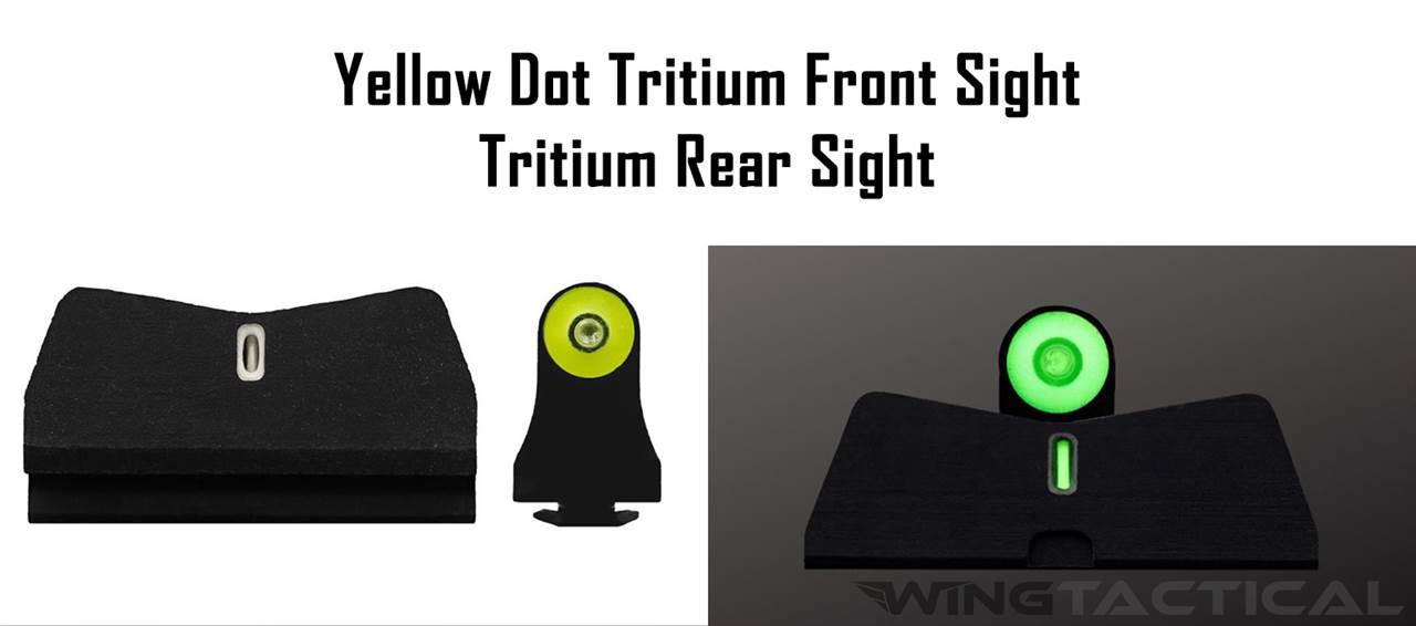 XS Sight Systems Big Dot Suppressor Night Sights for Glock 20,21,29,30,30S,37,40,41