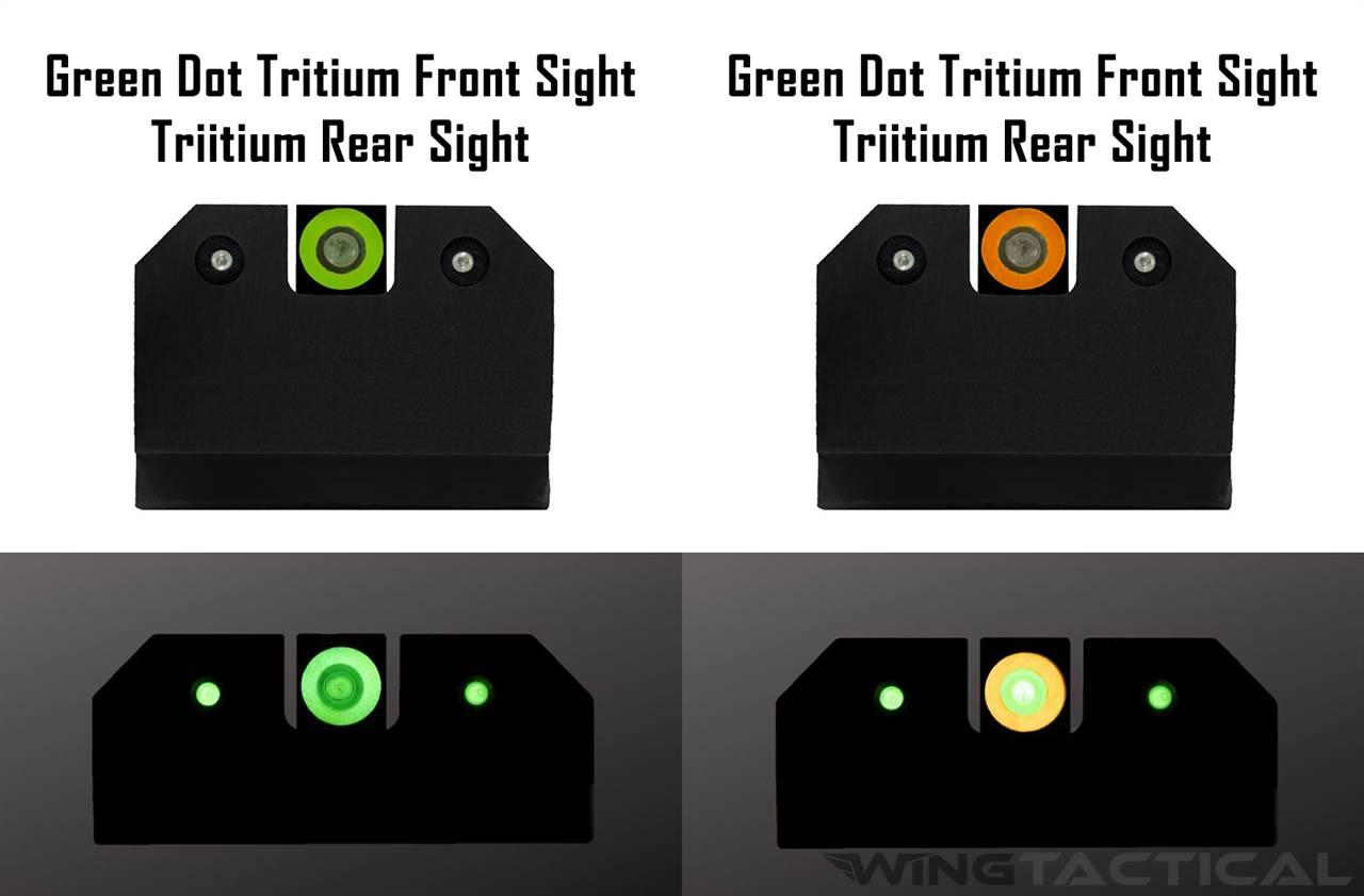 XS Sight Systems R3D Suppressor Night Sights for Glock 17,19,22-24,26,27,31-36,38,45