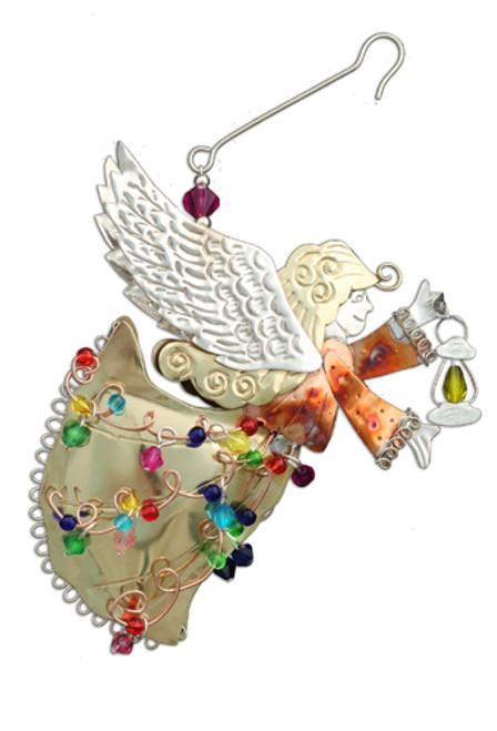 Guiding Light Angel Ornament