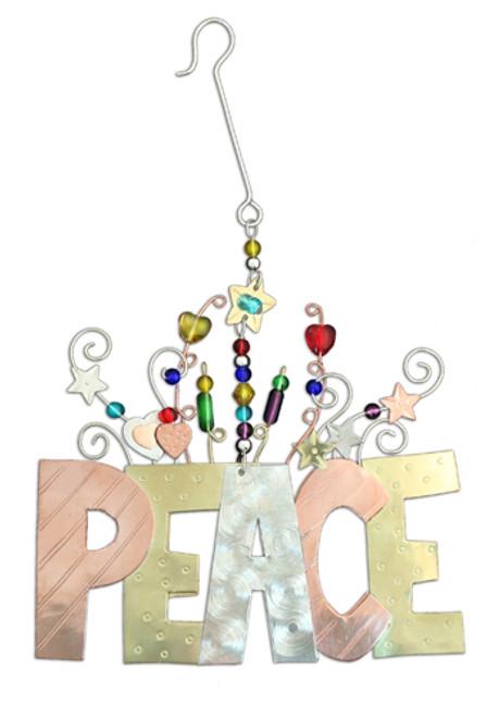 Peace 2 All Ornament