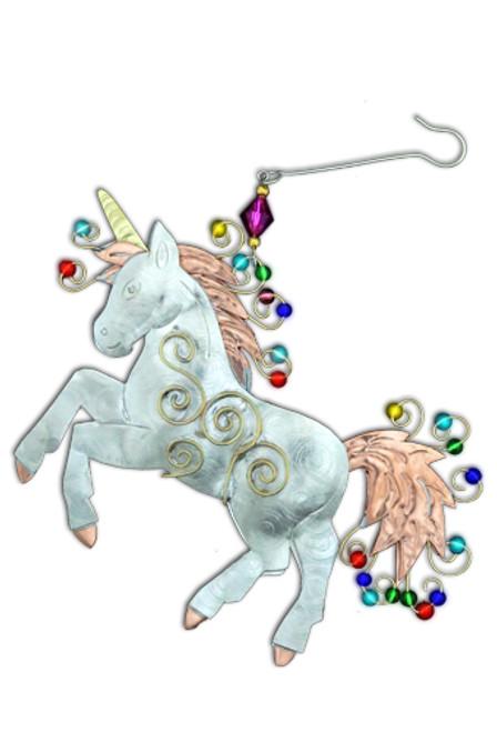 Proud Unicorn Ornament
