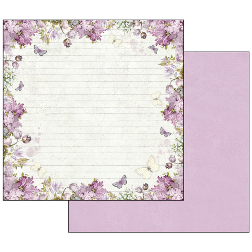 Stamperia - Lilac Flowers - Scrapbooking 12 x 12 Collection Pack SBBL21