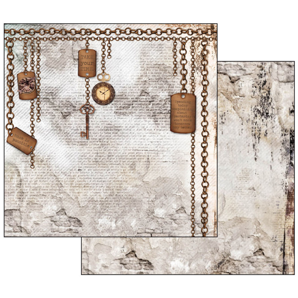Stamperia - Scrapbooking Collection Pack - Clockwise  SBBL39