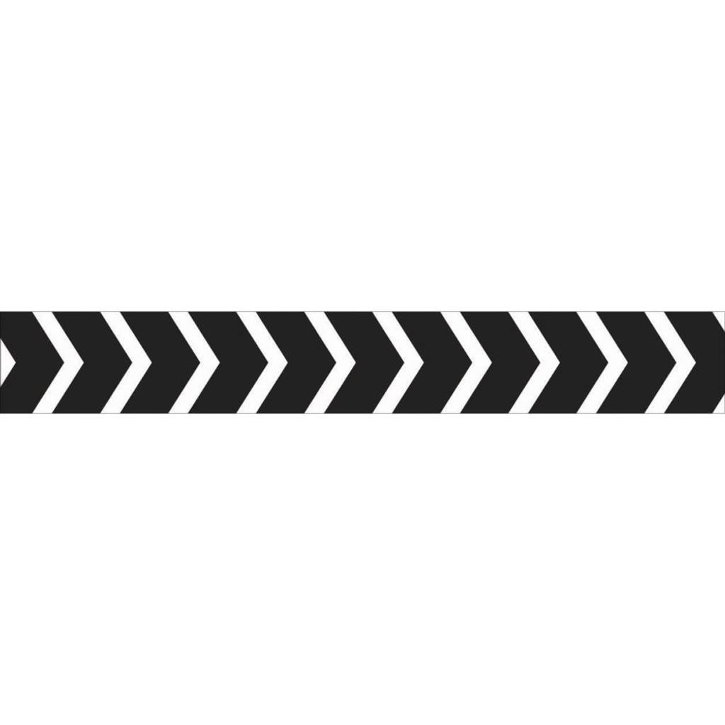 "Kaisercraft - Arrows Black - Printed Tape .5"" X 16.5' (PT212)"