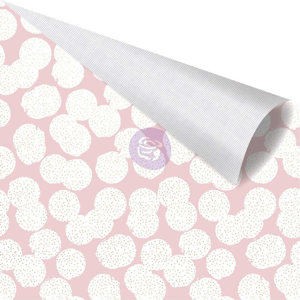 Prima Marketing - Double sided 12x12 Scrapbook Paper - Amelia Rose - Dotty  AME12 48262