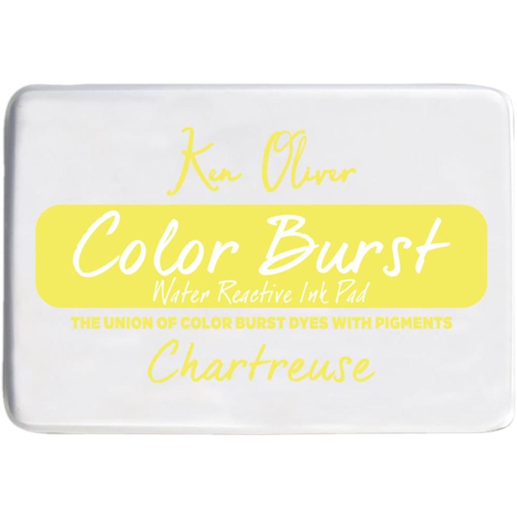 Color Burst Ink Pad - Chartreuse - Ken Oliver