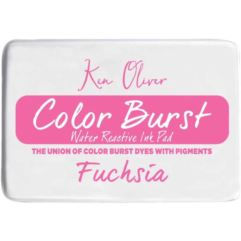 Color Burst Ink Pad - Fuchsia - Ken Oliver