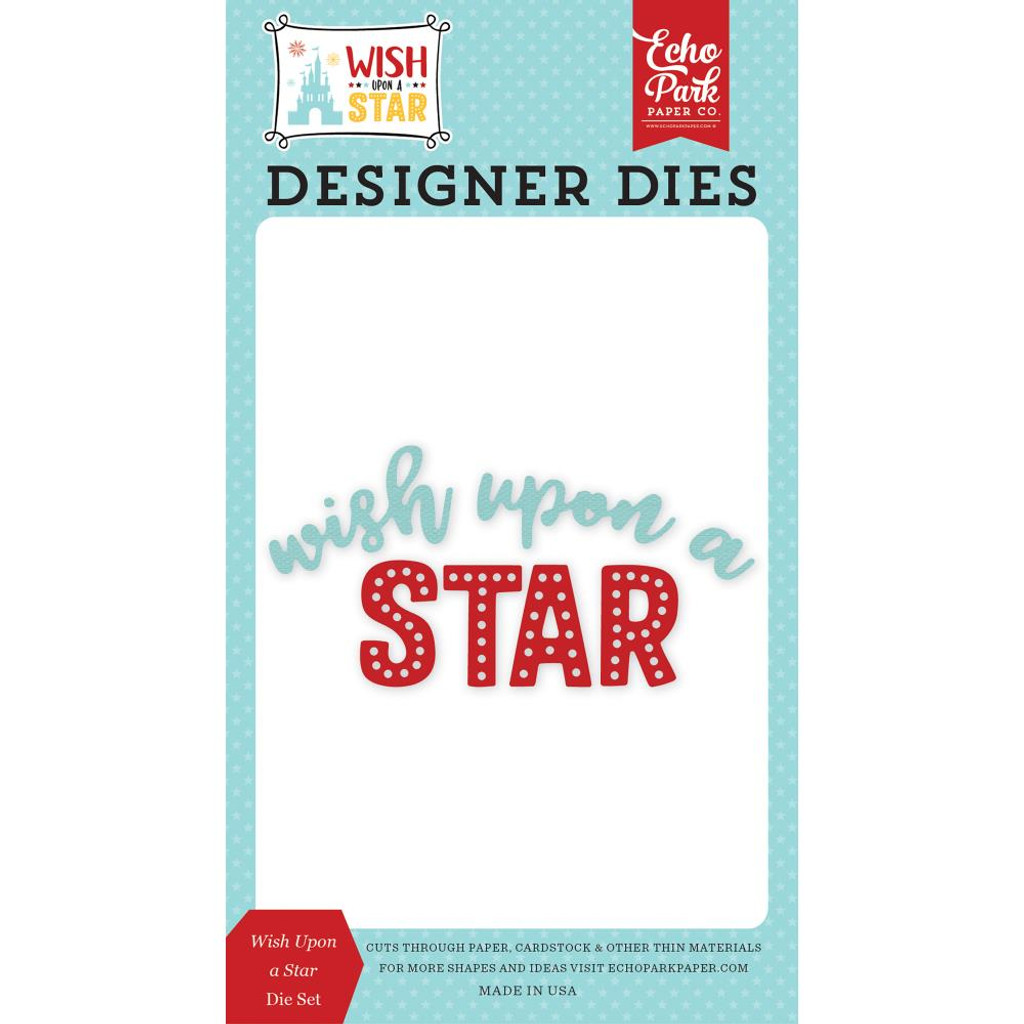 Wish Upon A Star- Die-Cut Set - Echo Park