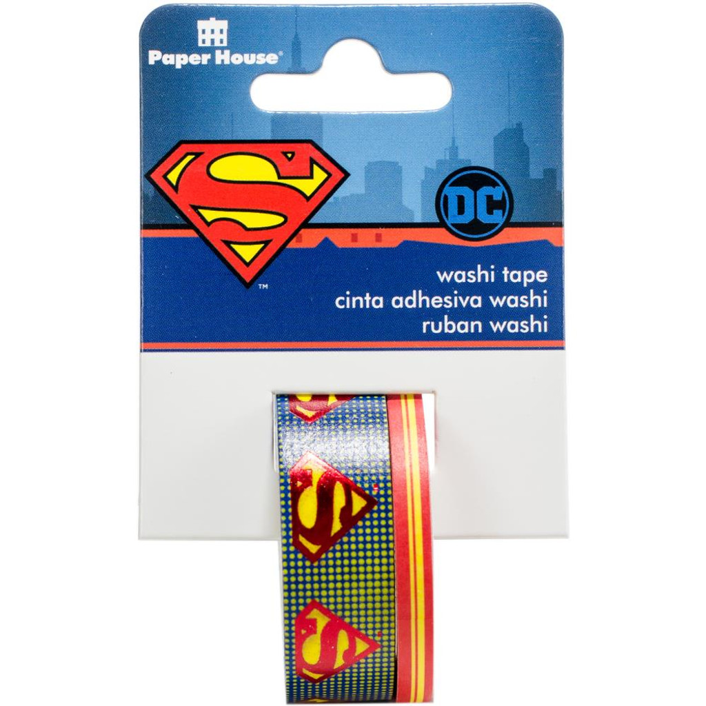 Superman - Washi Tape - PAPER HOUSE