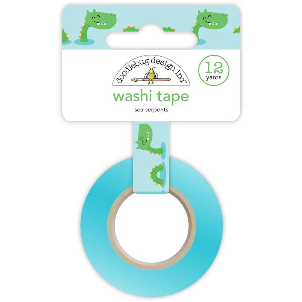 Doodlebug - Dragon Tails Sea Serpents - Washi Tape