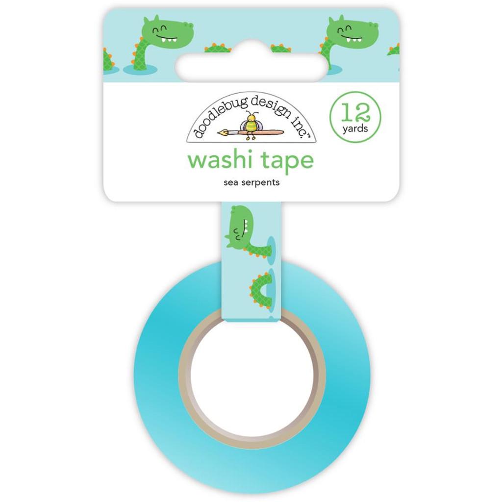 Doodlebug - Dragon Tails Sea Serpents - Washi Tape