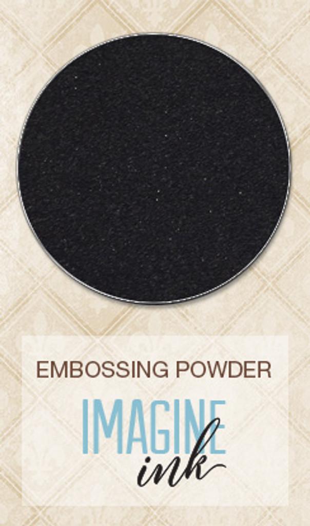 Blue Fern Studios Imagine Ink Embossing Powder - Ebony (109577)