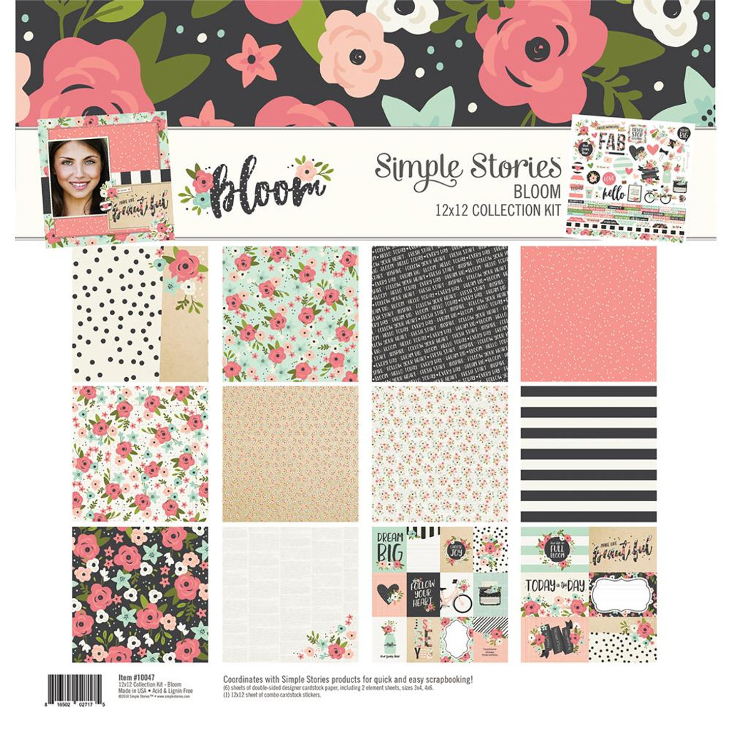 Simple Stories - Collection Kit 12 X 12 - Bloom (BLM10047)