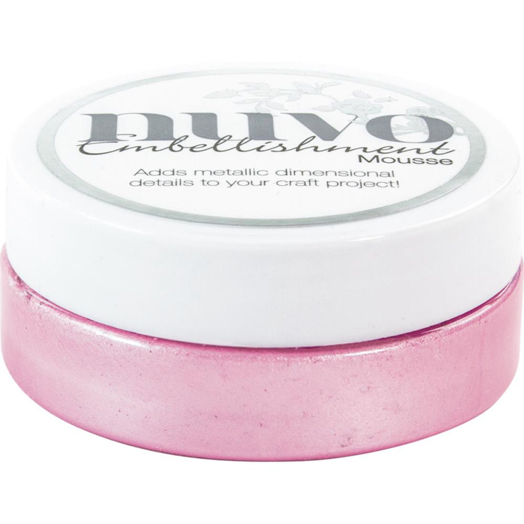 Nuvo - Embellishment Mousse - Peony Pink