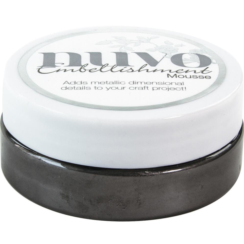 Nuvo - Embellishment Mousse - Black Ash (NEM 811)