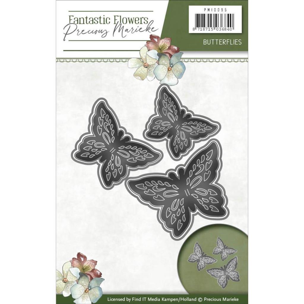 Find It Trading - Precious Marieke - Fantastic Flowers Die - Butterflies (PM10095)