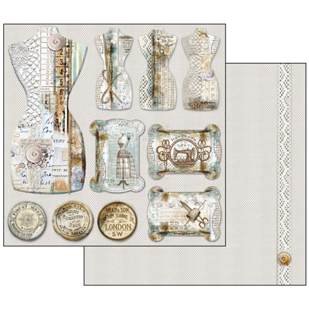 Stamperia - 12 x 12 Collection Pack - Atelier SBBL31