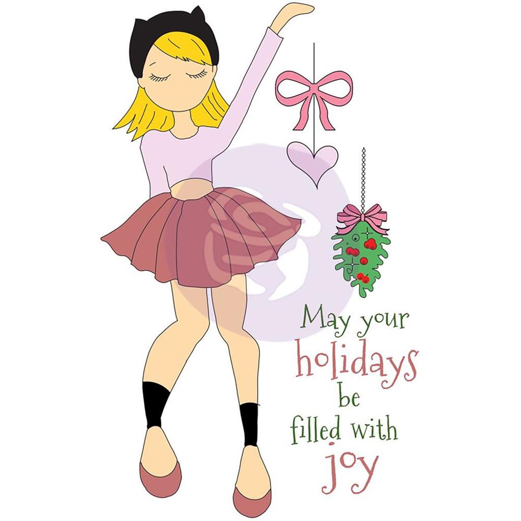 Prima - Julie Nutting - Christmas Stamps - Joy (912369)