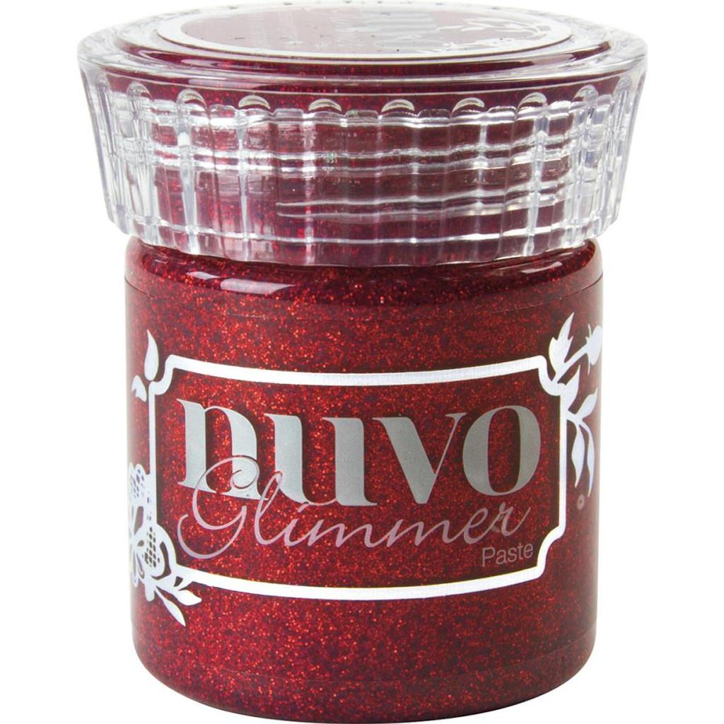 Nuvo - Glimmer Paste - Garnet Red (NGP - 954)