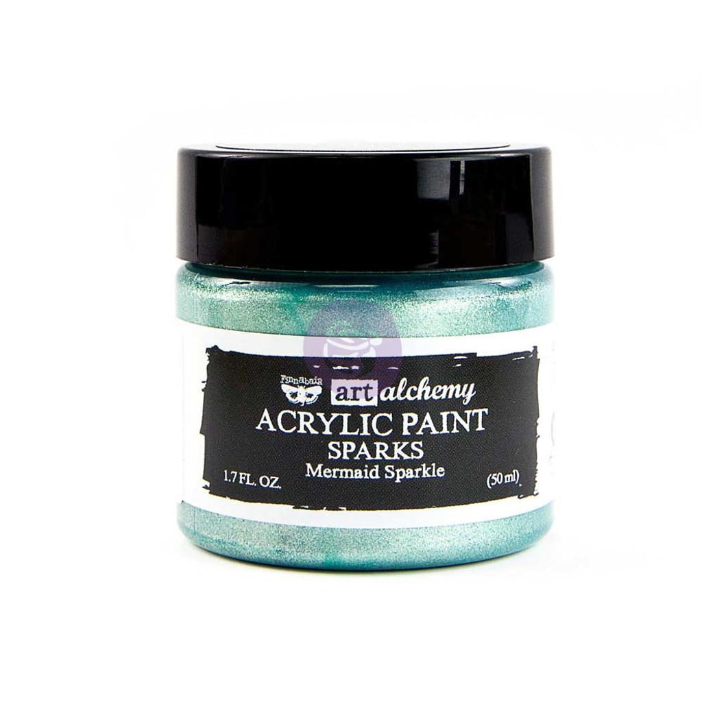 Finnabair Art Alchemy PAINT - Sparks - Mermaid Sparkle 50ml