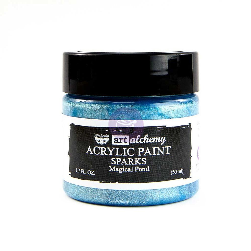 Finnabair Art Alchemy PAINT - Sparks - Magical Pond 50ml