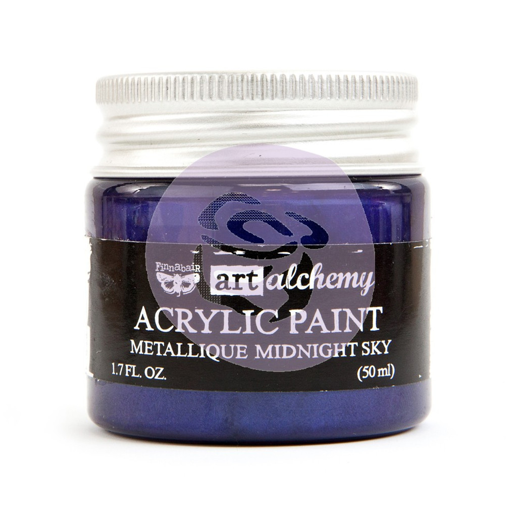 FINNABAIR Art Alchemy Paint Metallique Midnight Sky