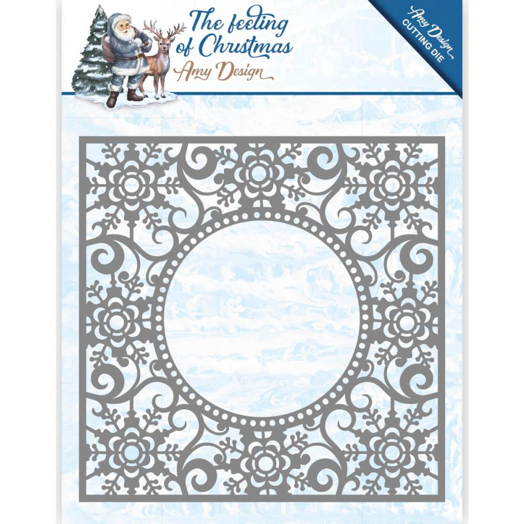 Find It Trading - Amy Design - The Feeling of Christmas - Ice Crystal Frame Die (ADD10109)