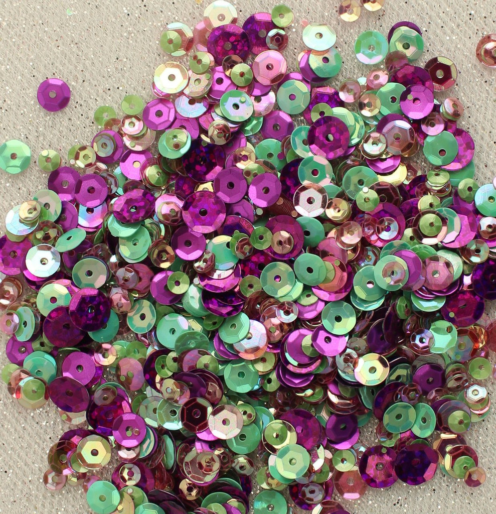 28 Lilac Lane Tin W/Sequins 40g - Violet Blossom