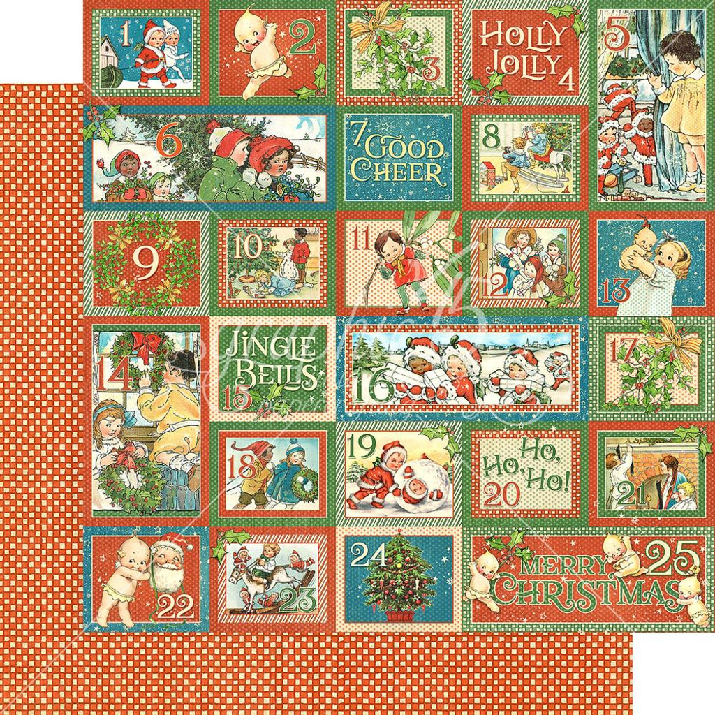 Graphic 45 - Christmas Magic- Collection Pack Double-Sided Paper  12x12