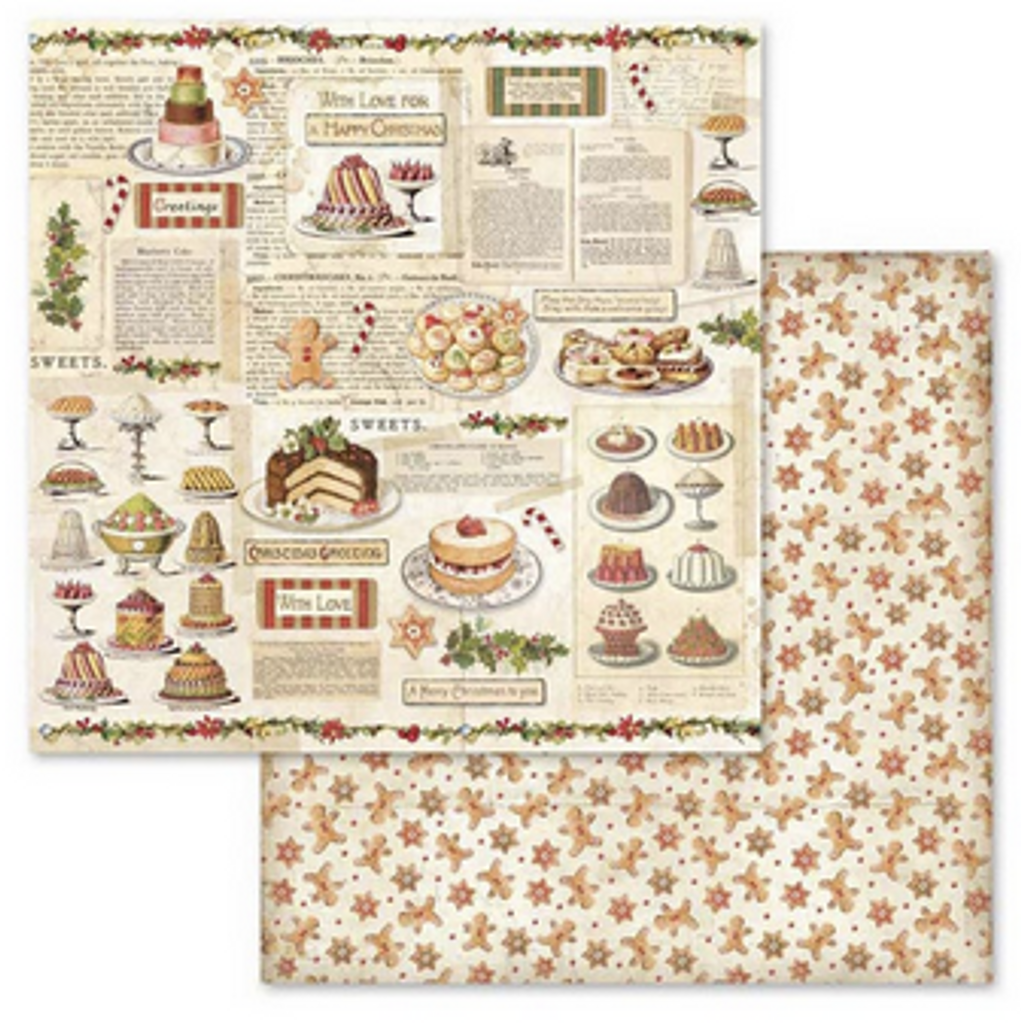 Stamperia - 12 x 12 Collection Pack - Christmas Vintage (SBBL45)