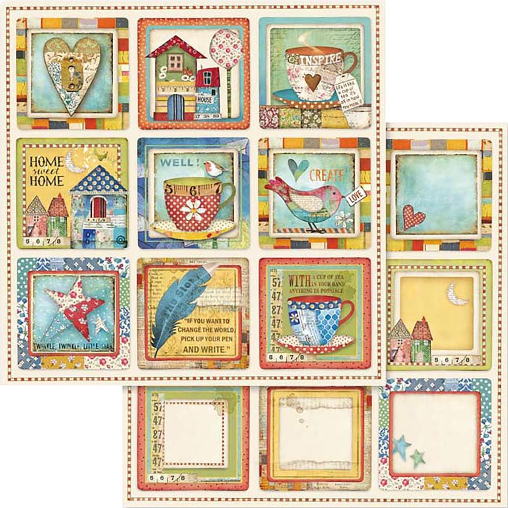 Stamperia - Patchwork - Patchwork Cards  - 12x12