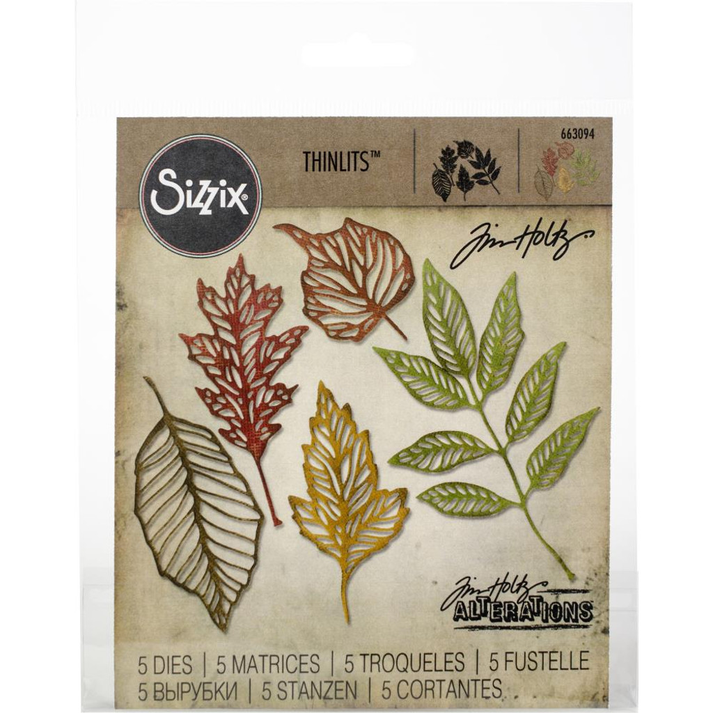 Sizzix - Tim Holtz - Skeleton Leaves- Framelits Dies