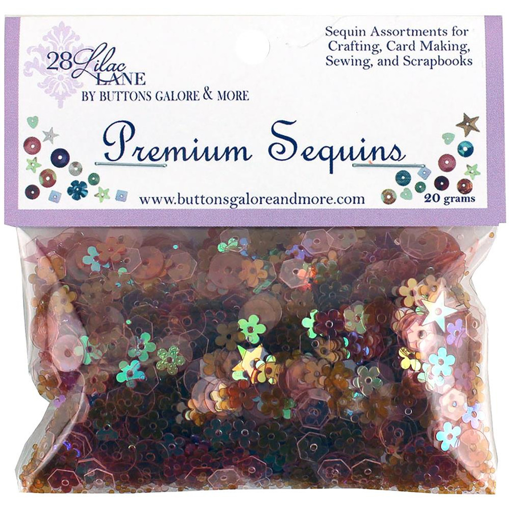 28 Lilac Lane Premium Sequins - Poppy (PS-LL 733)