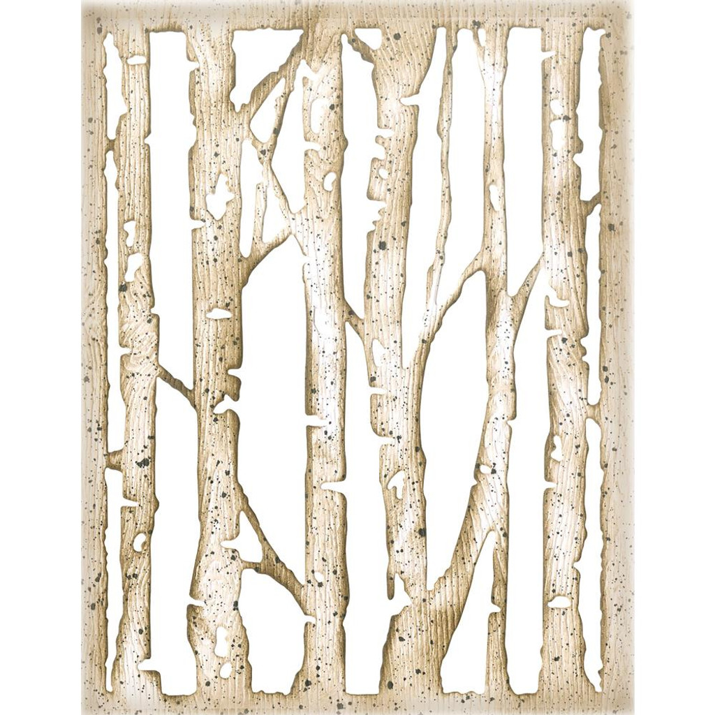 Sizzix - Tim Holtz - Framelits Dies - Branched Birch