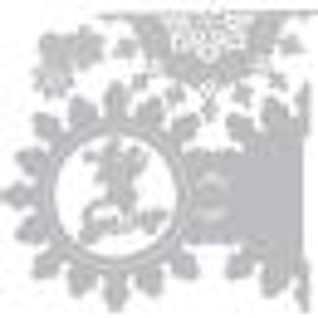 Sizzix - Jen Long - Thinlet Dies - Snowflake Fold-A-Long Card