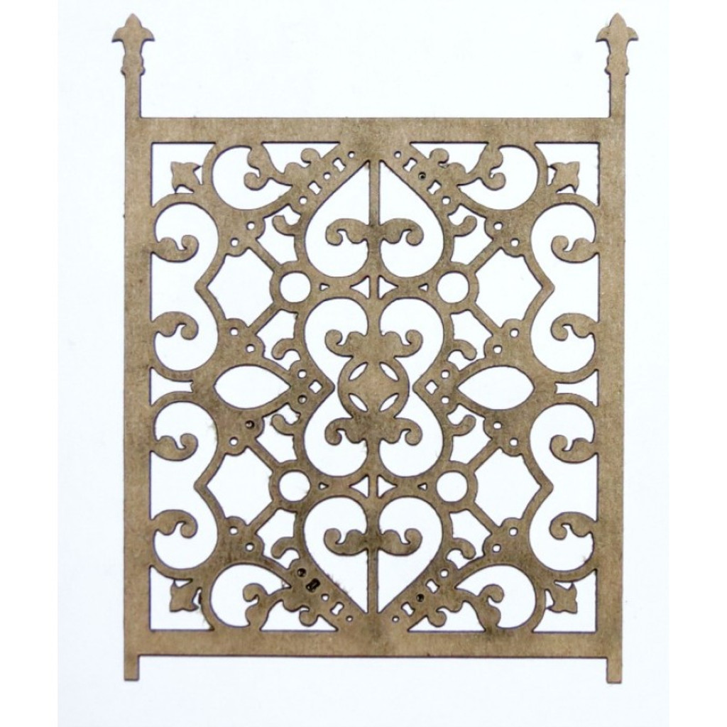 Creative Embellishments - Chipboard - Ornate Gate 2 (Set of 2)