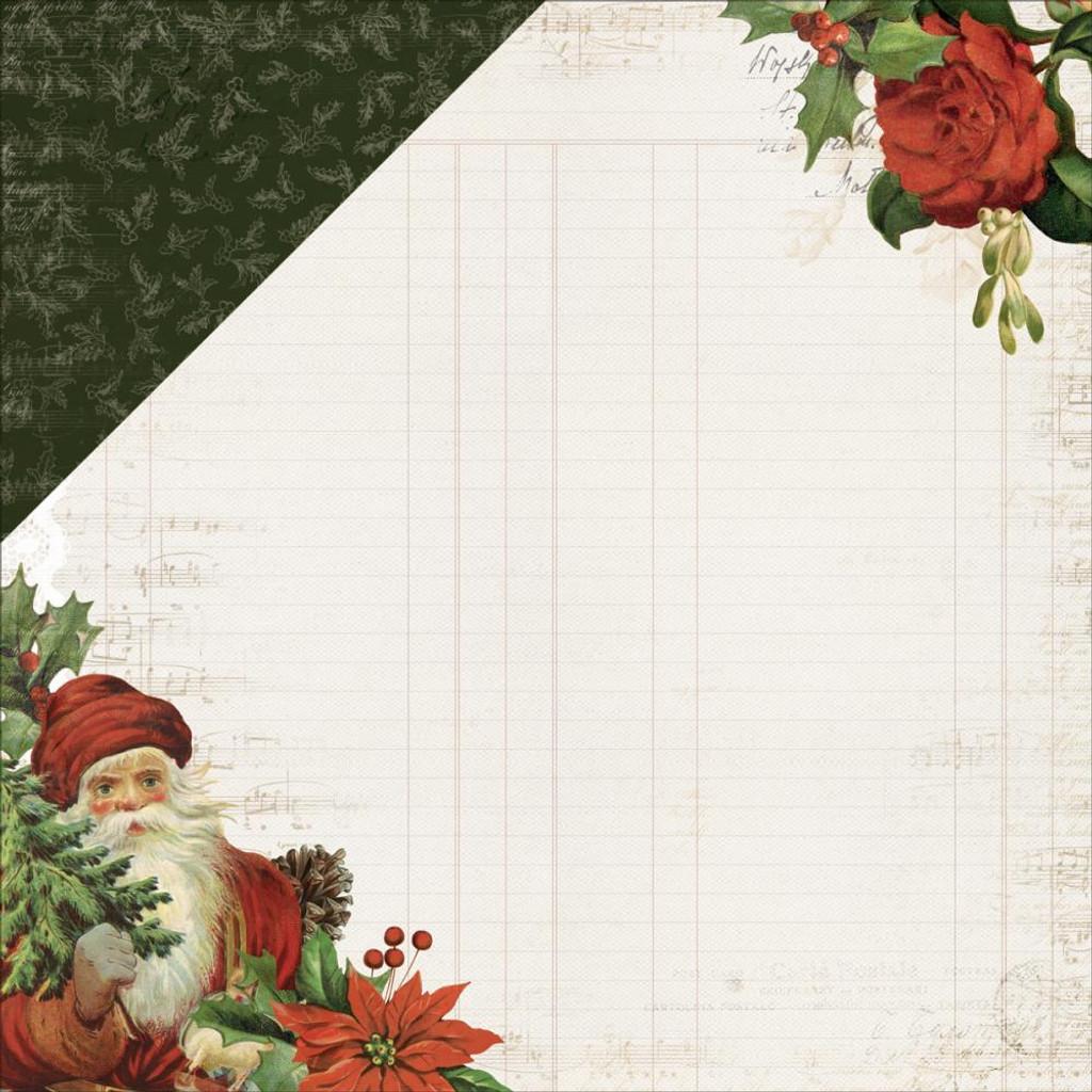 "Kaisercraft - Double-Sided scrapbooking paper 12""X12"" - Letters To Santa - Dear Santa (P2389)"